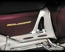 Show Chrome 52-723 Battery Side Cover Trim w/ Rubber Inserts for Goldwing GL1800