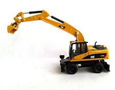 Norscot 55177 Cat Caterpillar HO Scale Wheeled Excavator Diecast 1:87