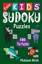Easy Kids' Sudoku Puzzles (2014, Paperback, Large Type)