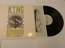 KING SWAMP - King Swamp - Original 1989 UK Virgin label 10-track vinyl LP