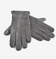Ladies Womens Genuine 100% Leather Sheepskin Gloves Winter Warm Lined Driving