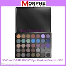 NEW Morphe Brushes 35-Color DARK SMOKY Eye Shadow Palette 35D FREE SHIPPING BNIB