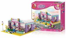 BEAUTY SALON  242 pcs Compatible Bricks Building Construction Set Girls Toy