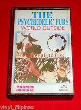 INDONESIA:THE PSYCHEDELIC FURS - World Outside,TAPE,Cassette,RARE,NEW WAVE