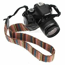 Vintage Camera Neck Shoulder Strap Belt For FujiFilm Nikon Sony Olympus DSLR