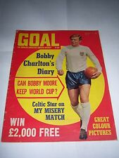 GOAL FOOTBALL MAGAZINE - 17/8/68 - #2 - WEST HAM UNITED / MANCHESTER UNITED
