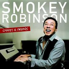 SMOKEY ROBINSON Smokey & Friends CD 2014 Elton John Sheryl Crow Aloe Blacc NEU