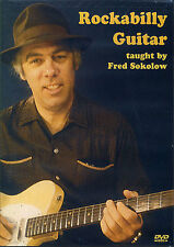 Learn To Play ROCKABILLY GUITAR Fred Sokolow DVD + Book