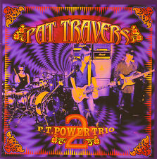 CD - Pat Travers - P.T. POWER TRIO 2 - #A1262 - RAR