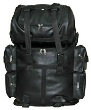 Vance Leather Expandable Sissy Bar Bag and Attachable Roll Bag