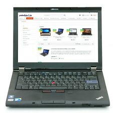 Lenovo ThinkPad T510 i5-520M 2,4GHz 4GB 320GB Office 2010 CAM Win 7 Pro + Dock