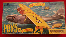 Aurora - PBY-5a Catalina - Model Kit # 374-198 - 1/74 - Vintage - Rare - HTF