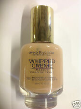 Max Factor Whipped Creme Makeup #329 Medium Beige (Warm 3) New.