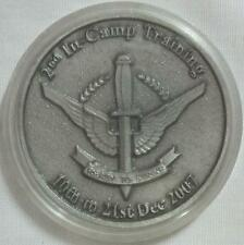 Singapore Armed Forces Guards 2nd In-Camp Training Coin 2007