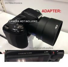 New LENS ADAPTER 67mm for DIGITAL CAMERA NIKON COOLPIX L330 L 330 67 mm