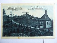 AK Mückenberg Restaurant Touristenheim Böhm. Erzgebirge
