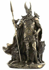 Odin Norse God Sculpture Viking Warrior Statue Figurine