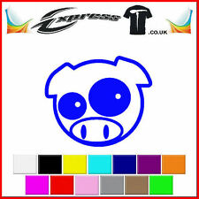 Subaru manga pig mascot Turbo STI WRX Car/Wall JDM VW EURO Vinyl Decal Sticker