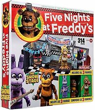 FIVE NIGHT'S AT FREDDY'S THE SHOW STAGE BUILDING BLOCKS CONSTRUCTION SET 12035