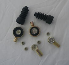"MGF  MG TF GEAR CABLE REPAIR KIT ""BOTH CABLES"" CABLE CONNECTORS GAITERS   UK CO."