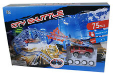City Shuttle High Speed Looping Action 75pc Playset with Vehicle -Free shipping