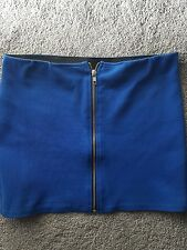 royal blue mini / short skirt 12  never worn