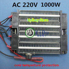 AC/DC 220V 1000W  PTC heating element heater Warmer ceramic Thermostatic