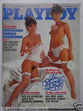 Playboy - D 5/1984, David Hamilton, Carina Jensen,  Ralph Siegel, Andrea Klippel