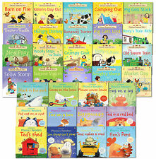 Usborne Early School Reading Collection 32 Children Books Set NEW Read At Home