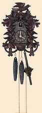 Deeply Carved Cuckoo Clock by Anton Schneider (30-Hour)