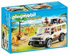PLAYMOBIL Safari Truck with Lions 6798