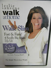 LESLIE SANSONE, WALK AT HOME WALK SLIM FAST & FIRM!  4 REALLY BIG MILES