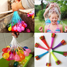 111 LOT MAGIC WATER BALLON FIGHT BOMBS ALREADY TIED KIDS PARTIES BBQ NEW