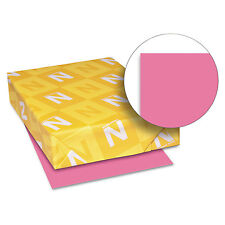 Neenah Paper Astrobrights Colored Card Stock 65 lb. 8-1/2 x 11 Plasma Pink 250
