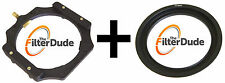 FilterDude LEE Compatible 4x4 Filter Holder + 82mm Wide Angle Adapter Ring