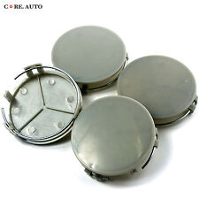 73mm Car Wheel Center Hub Caps Cover Chrome 4pcs New