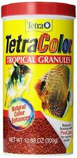 Tetra Color Tropical Granules, 10.58-Ounce, 1-Liter Size Fish Food