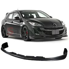 Made for 09-11 MAZDA 3 4/5 DOORS VIP GV Style Front Bumper Lip Spoiler - PU