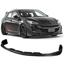 Fit for 2009-2011 MAZDA 3 4/5dr DS Style JDM Front Bumper Spoiler Lip - URETHANE