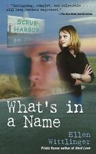 Ellen Wittlinger - Whats In A Name (2008) - Used - Trade Paper (Paperback)