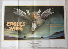 Cinema Poster: EAGLE'S WING 1979 (Quad) Martin Sheen Sam Waterston Harvey Keitel