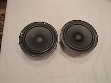 PAIR OF JAMO 6 1/2'' WOOFER SPEAKER TAKEN FROM A SW80SUB UNIT - MADE IN DENMARK