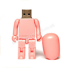 2GB Pink Robot USB Flash Drive/ Memory Stick/ Office/ School/ Gift/ Present