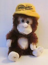 """HERSHEY PARK MONKEY 8"""" PLUSH DOLL, Peek-A-Boo Toys, Pennsylvania Amusement Park"""