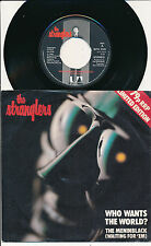 """THE STRANGLERS 45 TOURS 7"""" UK WHO WANTS THE WORLD ?"""