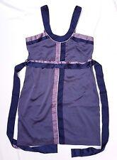 EX CON Cooper St Size 12 Dress Purple Tie Belt Strapless Mini Event Wedding Chic