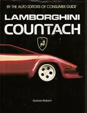 LAMBORGHINI COUNTACH SUPERBLY ILLUSTRATED VINTAGE BOOK TECHNICAL DETAIL SPECS