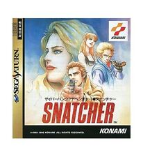 (Used) Sega Saturn Snatcher [Japan Import]、