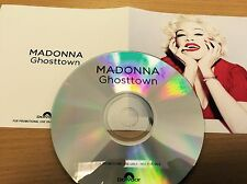 "Madonna ""Ghosttown"" 2015 Polydor New 1 Track Cd Promo Rebel Heart +presssticker"