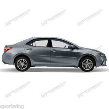 For: TOYOTA COROLLA; PAINTED Body Side Moldings Mouldings Trim 2014-2018